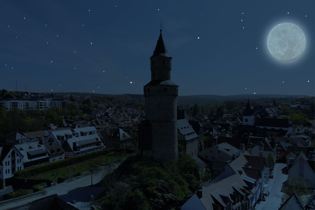 Kulinarische Mondscheintour durch Idstein
